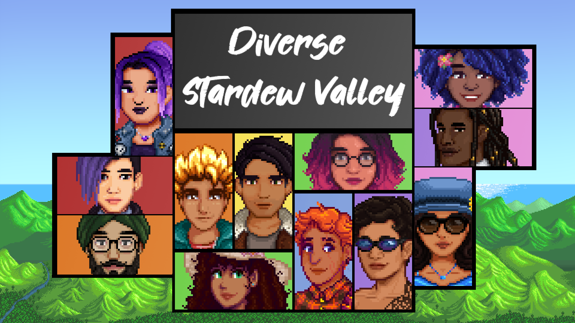 Diverse Stardew Valley By Notsnuffie