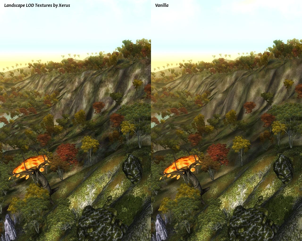Landscape Lod Textures By Xerus Oblivion Mods