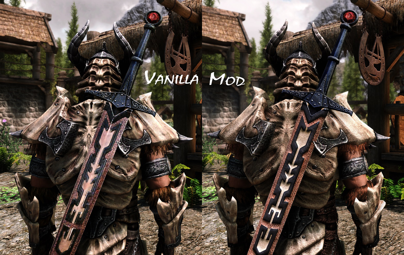 Better Textures Dragon Armor And Weapons Skyrim Special Edition Mods Dragon knight armor is a heavy armor set added by the mod immersive armors. better textures dragon armor and