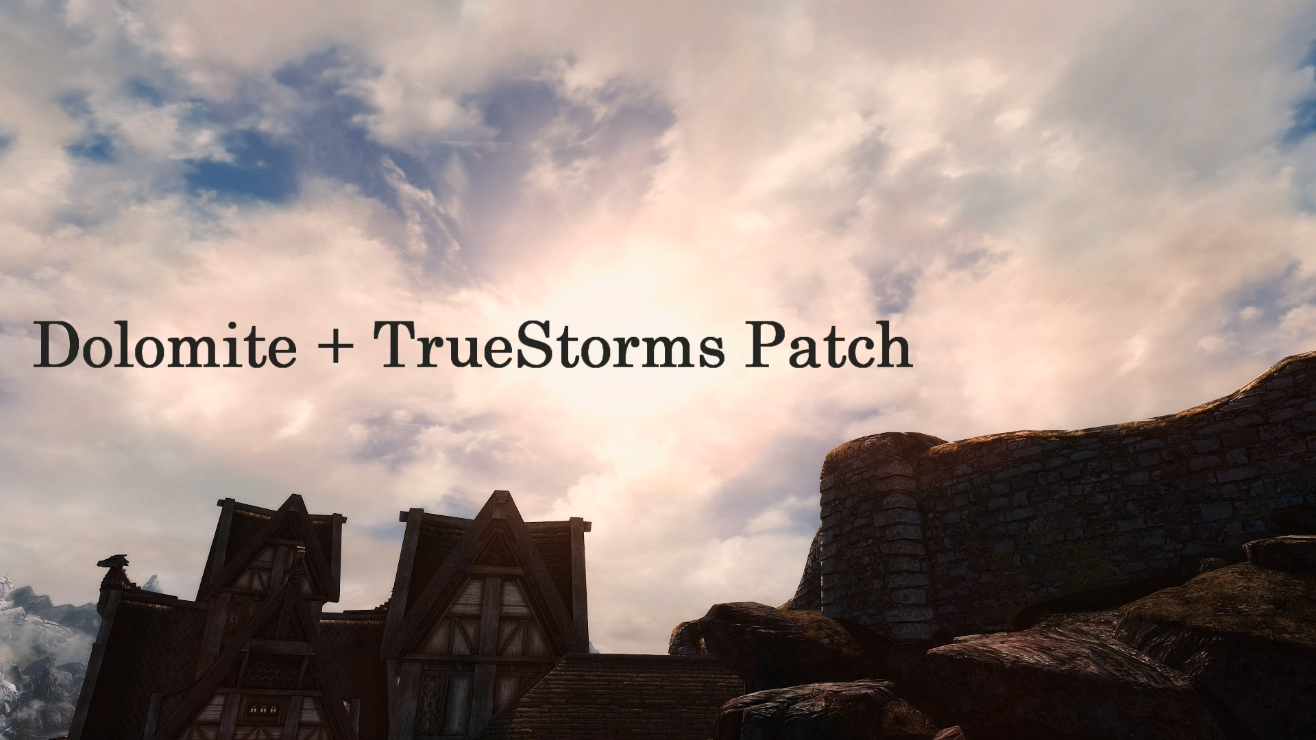 get online stable quality factory outlets Dolomite - TrueStorms Merged Compatibility SSE | Skyrim ...