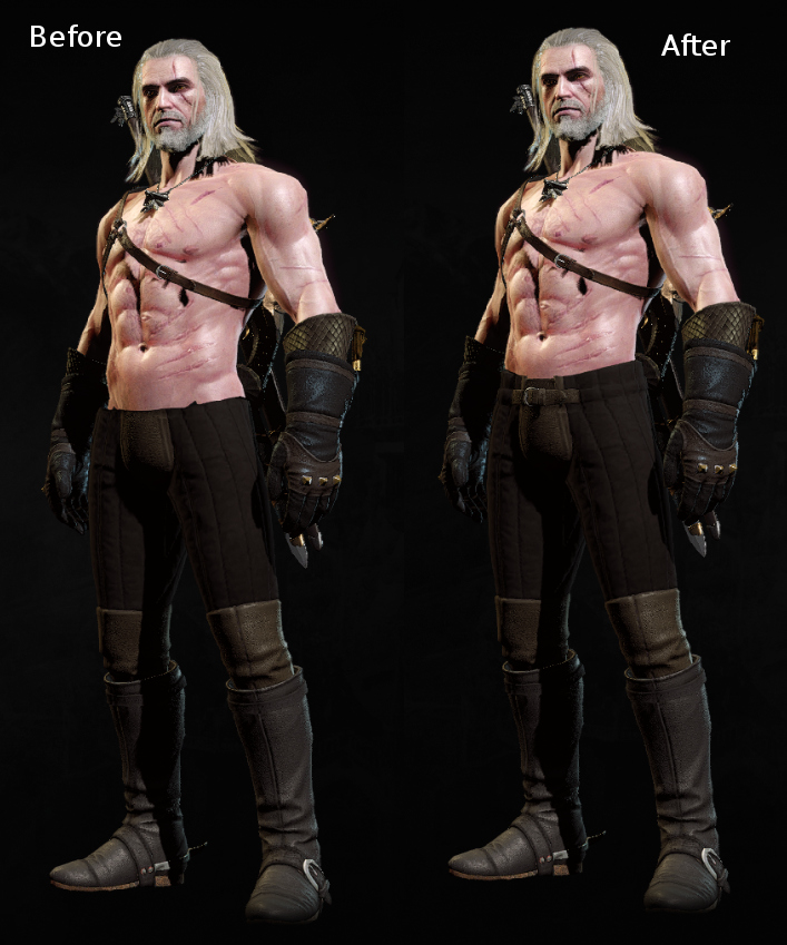Viper Armor Fixes Witcher 3 Mods